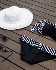 Urban Zebra Classic Bikini Black