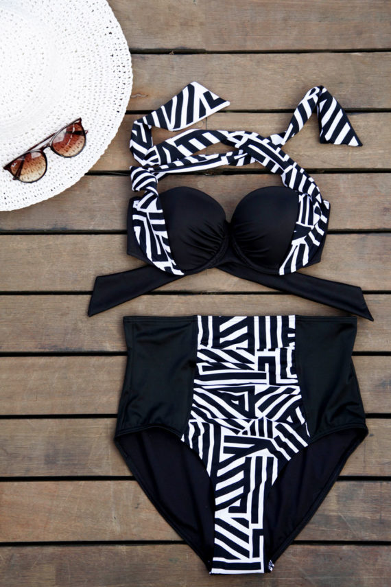 Urban Zebra High-waist Bikini